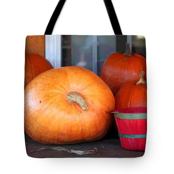 Pick A Pumpkin Tote Bag