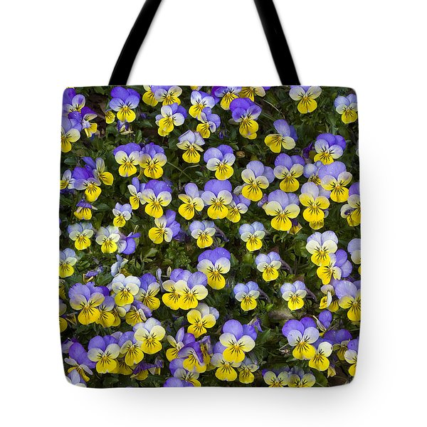 Pick Me-pansies Tote Bag