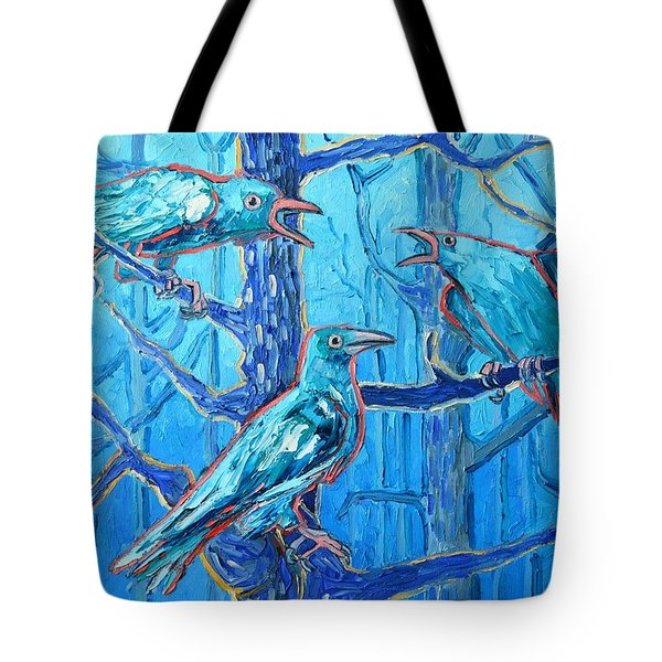 Pick Me ..... They're Crazy Tote Bag by Ana Maria Edulescu