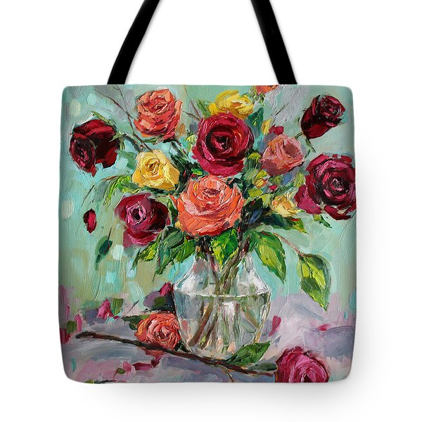 Tote Bag featuring the painting Picked For You by Jennifer Beaudet