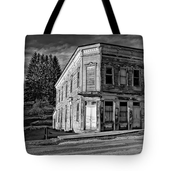 Pickens Wv Monochrome Tote Bag