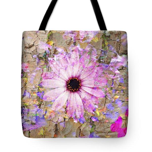 Pickin Wildflowers Tote Bag by Amanda Eberly-Kudamik