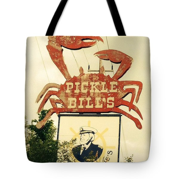 Pickle Bill's Tote Bag