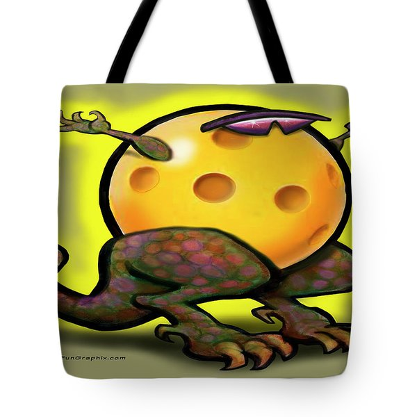 Pickleball Beast Tote Bag by Kevin Middleton