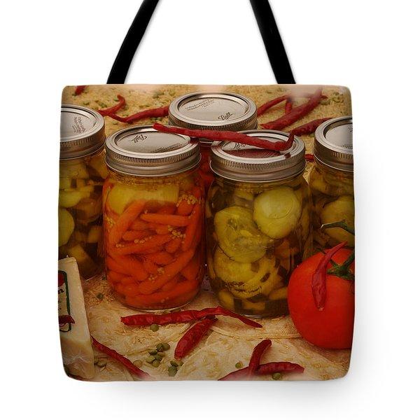 Pickled Still Life Tote Bag