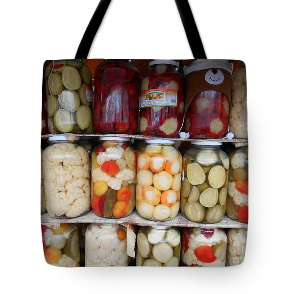 Pickles Anyone?  Tote Bag