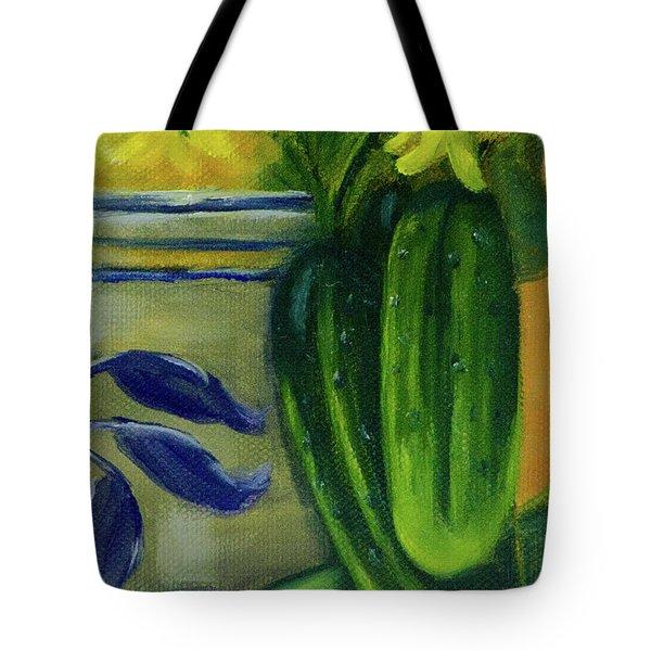 Pickling Cucumbers  Tote Bag