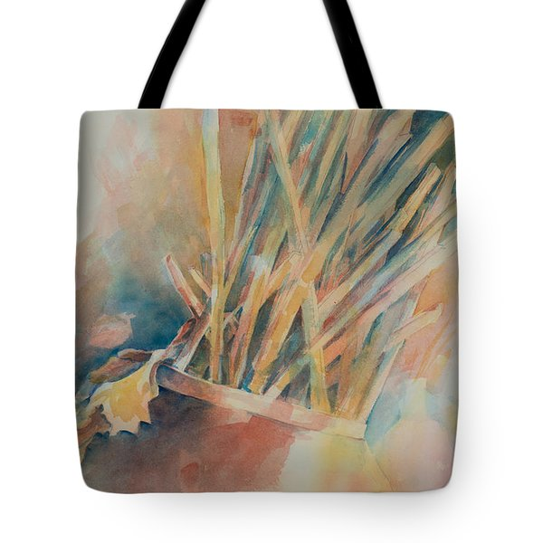 Pickup Sticks Tote Bag by Lee Beuther
