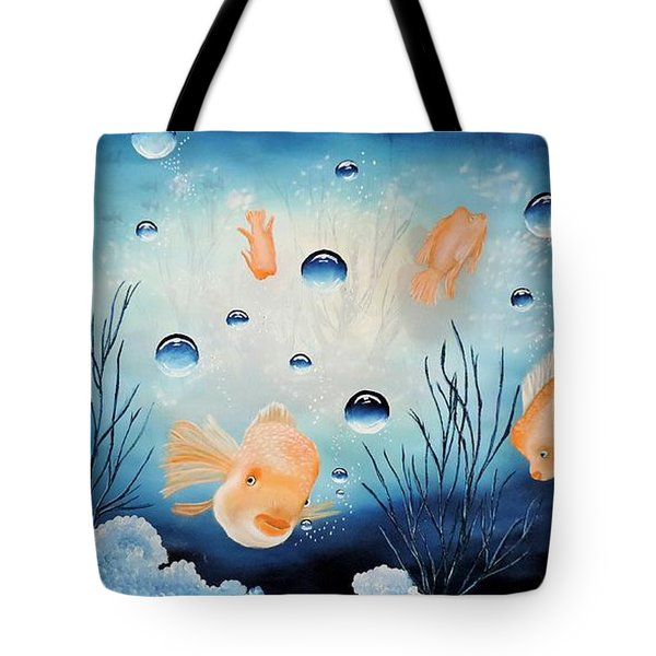 Picses Tote Bag by Dianna Lewis