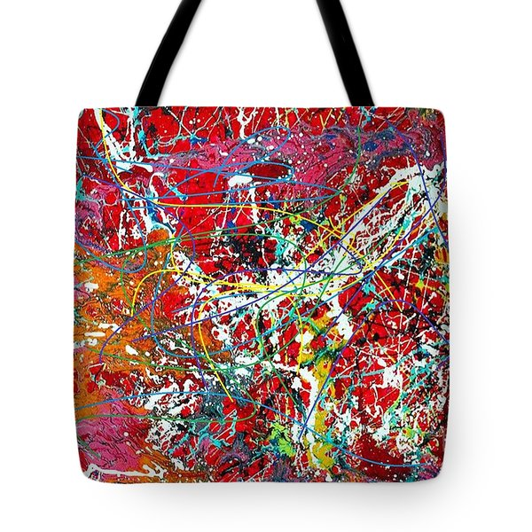 Pictographic Interpretation Tote Bag