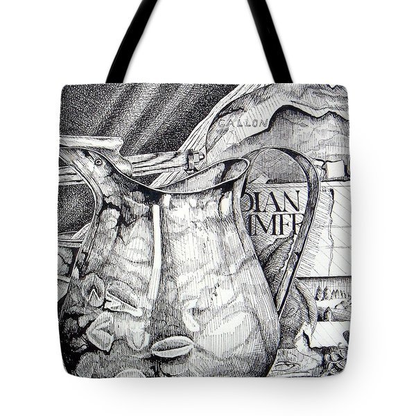 Picture Of Pitcher Tote Bag
