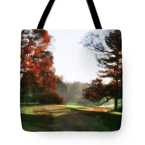 Picture Perfect Morning Tote Bag by Bill Cannon