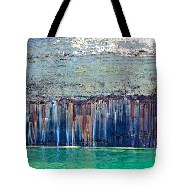 Picture Rock Two Tote Bag