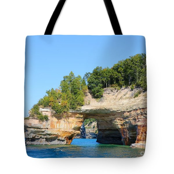 Picture Rocks Tote Bag