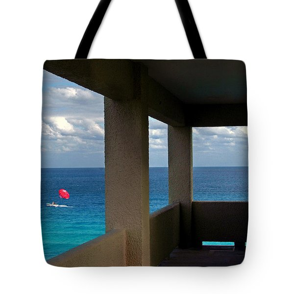 Picture Windows Tote Bag