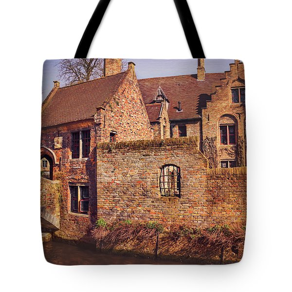 Picturesque Bruges  Tote Bag