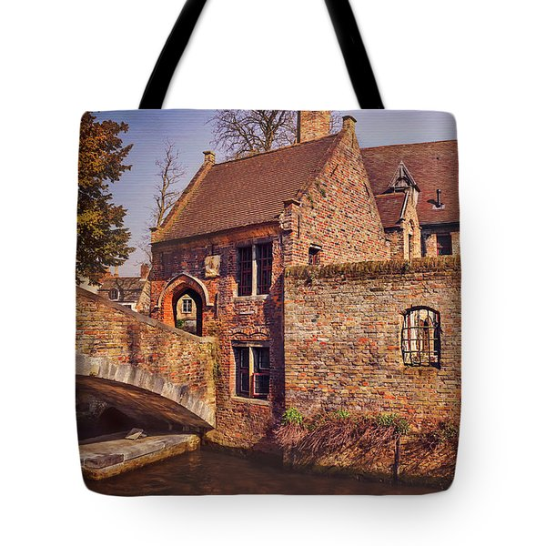 Tote Bag featuring the photograph Picturesque Bruges  by Carol Japp