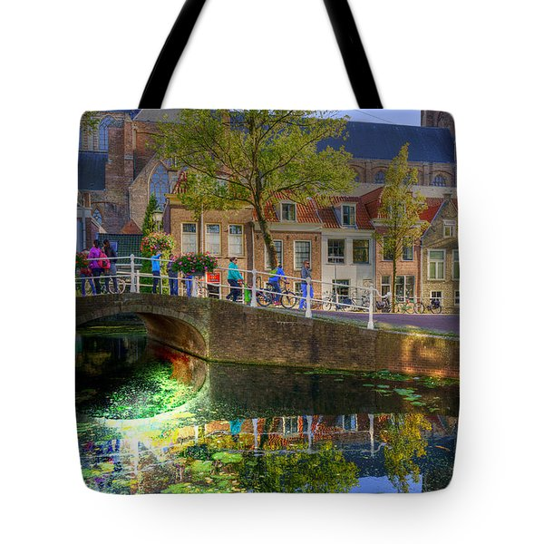 Picturesque Delft Tote Bag by Uri Baruch