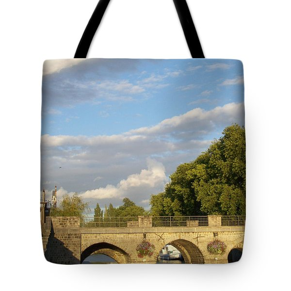 Tote Bag featuring the photograph Picturesque by Mary Mikawoz