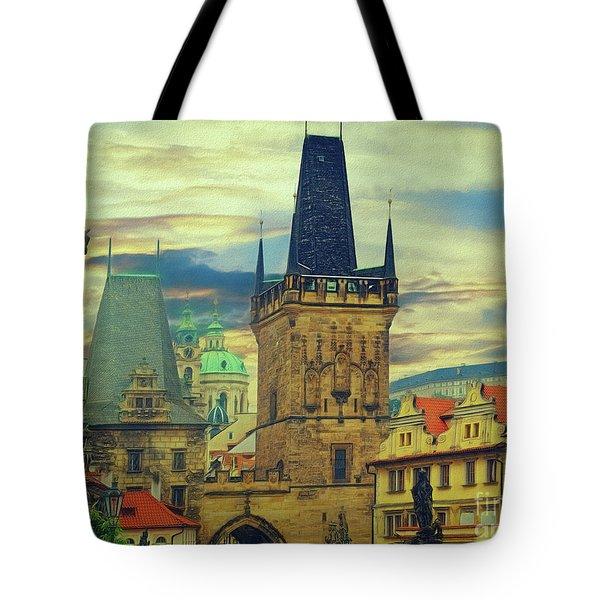 Picturesque - Prague Tote Bag