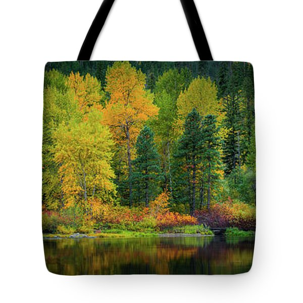 Picturesque Tumwater Canyon Tote Bag