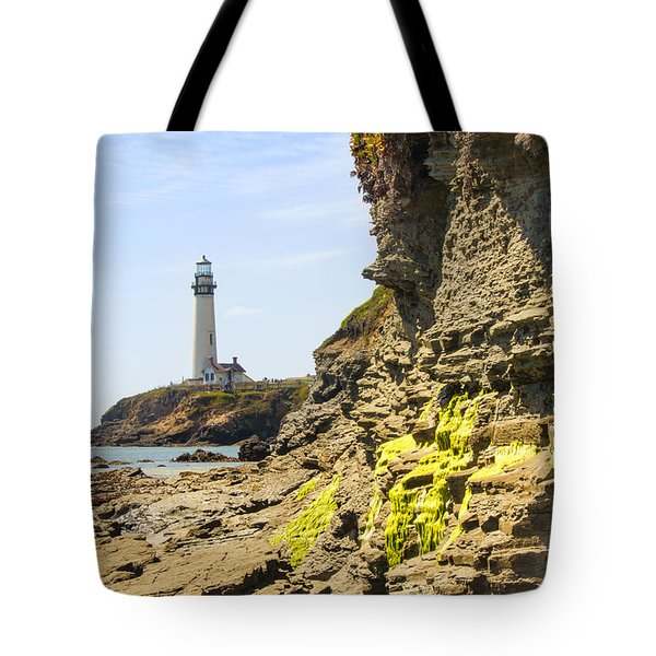 Pidgeon Point Lighthouse Tote Bag