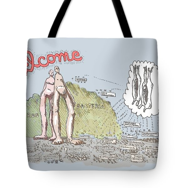 Piece Of Meat Tote Bag