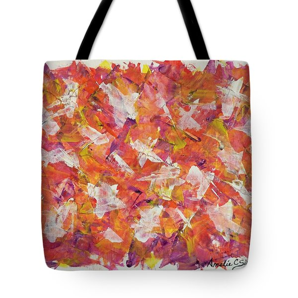 Piecefall  Tote Bag