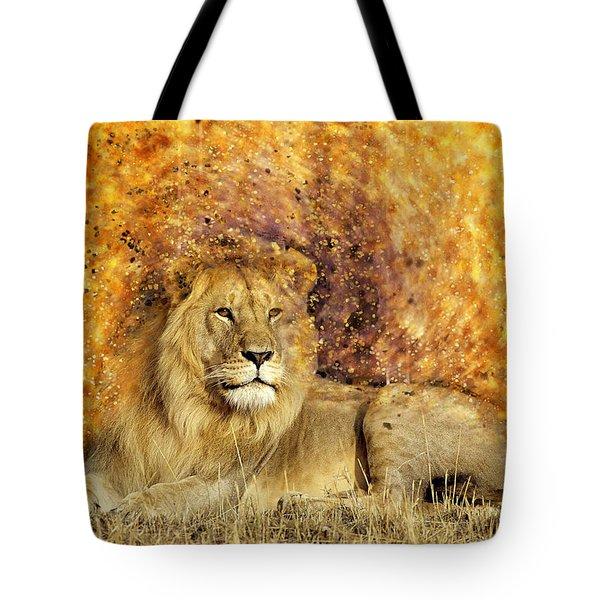 Pieces Of A Lion Tote Bag