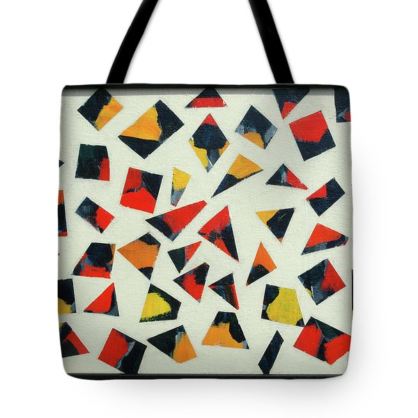 Pieces Of Art Tote Bag
