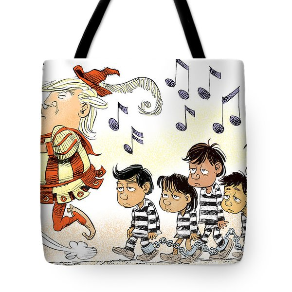 Pied Piper Trump And Infestation Tote Bag