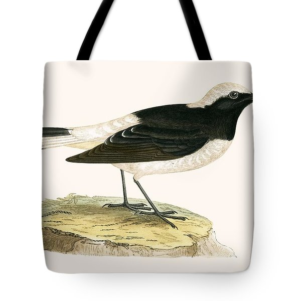 Pied Wheatear Tote Bag by English School