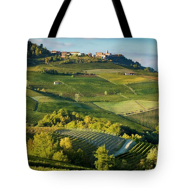 Tote Bag featuring the photograph Piemonte Countryside by Brian Jannsen