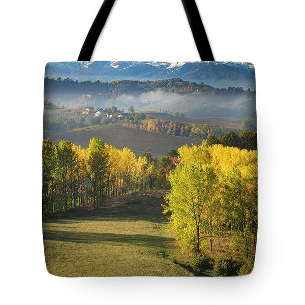 Tote Bag featuring the photograph Piemonte Morning by Brian Jannsen