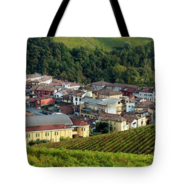 Tote Bag featuring the photograph Piemonte Panoramic by Brian Jannsen