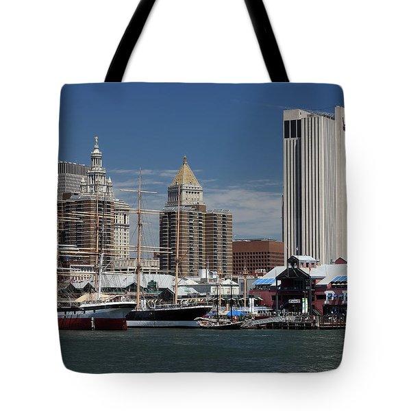 Pier 17 Nyc Tote Bag
