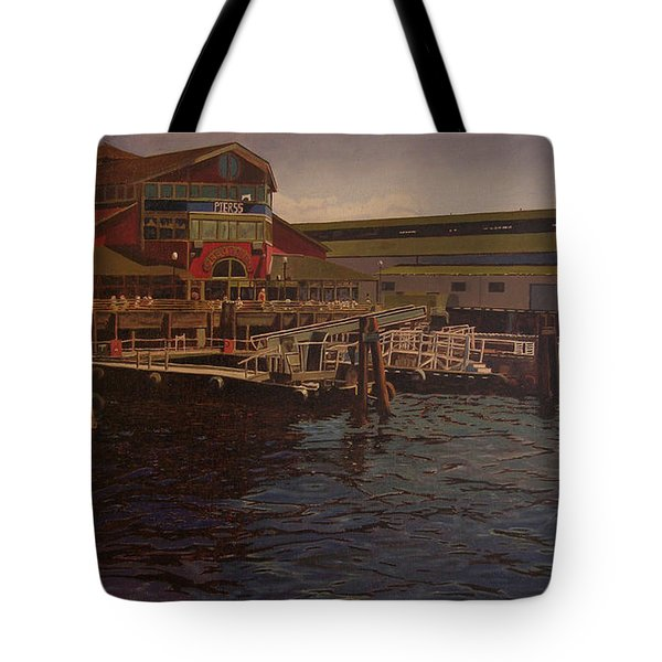 Pier 55 - Red Robin Tote Bag
