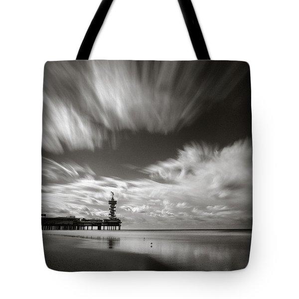 Pier End Tote Bag