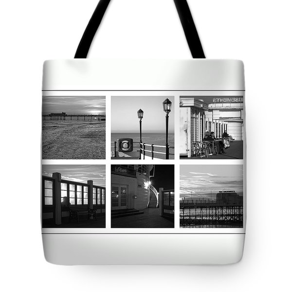 Pier Moods Tote Bag by Hazy Apple
