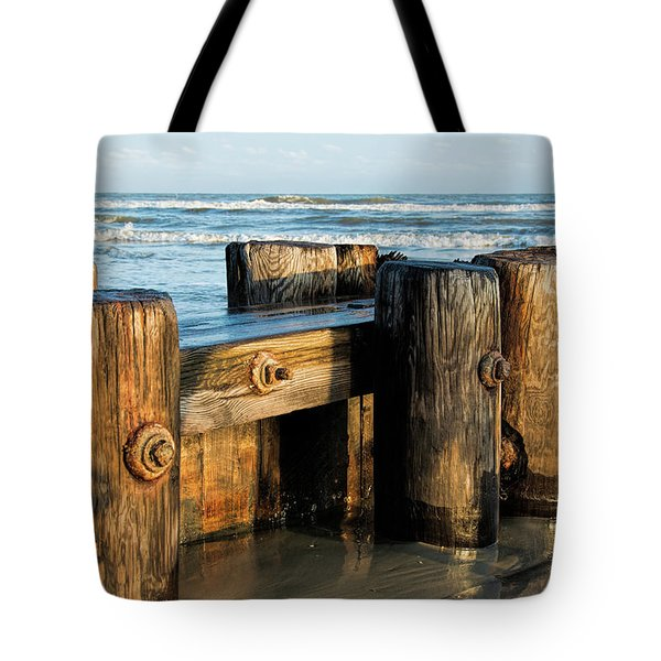 Pier Perspective Tote Bag