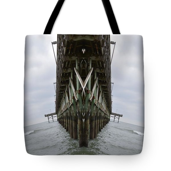 Pier Three Tote Bag