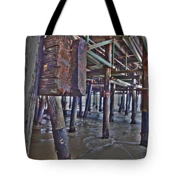 Pier Underworld Tote Bag