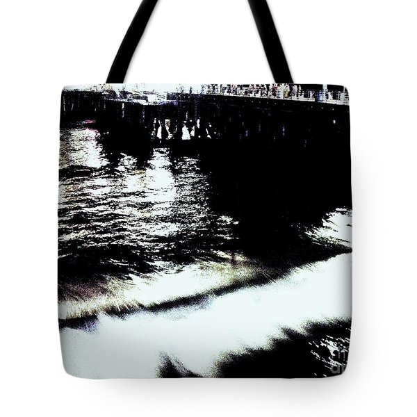 Pier Tote Bag by Vanessa Palomino