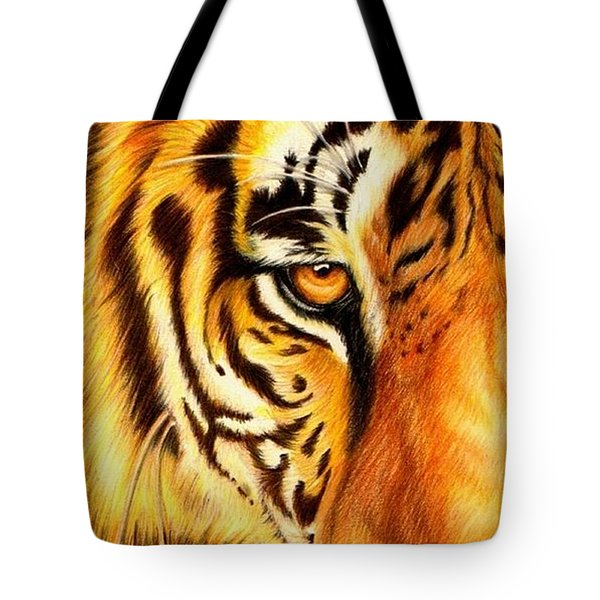 Piercing Glance Tote Bag