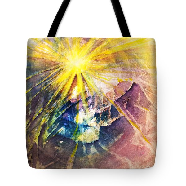 Piercing Light Tote Bag