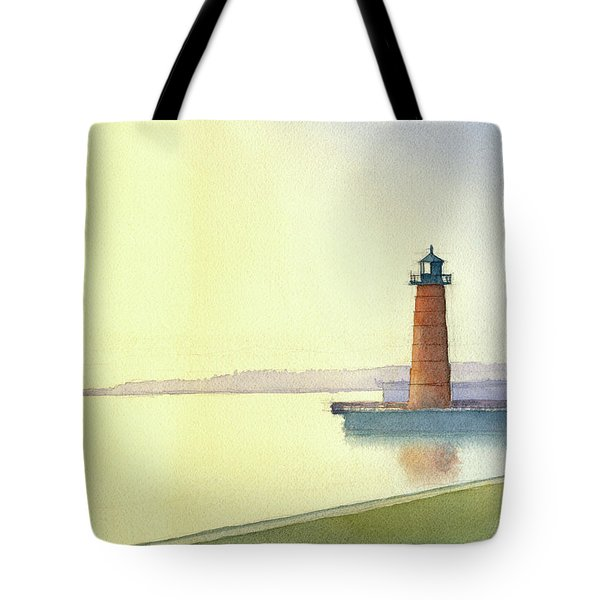 Pierhead Lighthouse, Milwaukee Tote Bag