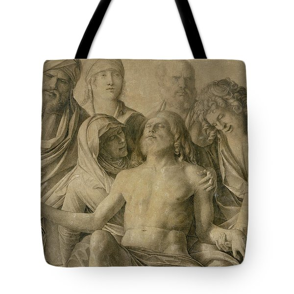 Pieta Tote Bag by Giovanni Bellini