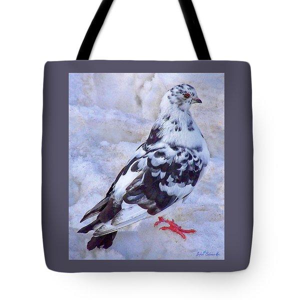 Pigeon On Ice  1 Tote Bag