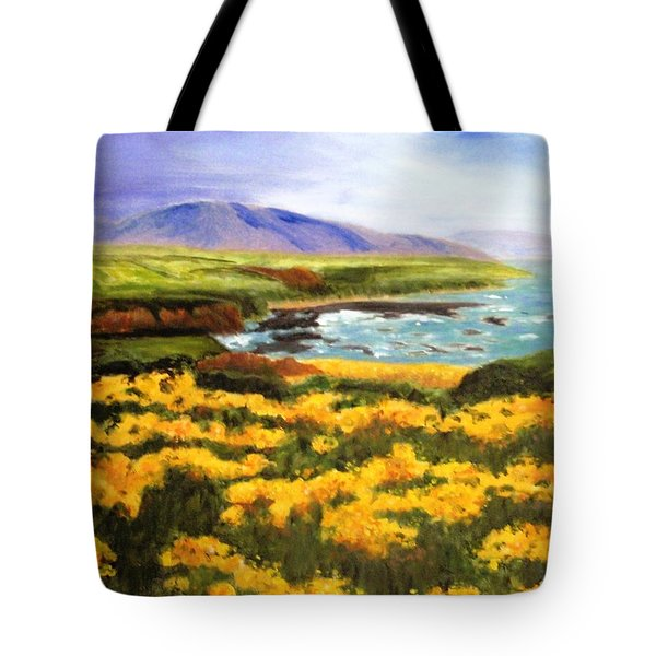 Pigeon Point Tote Bag by Jamie Frier