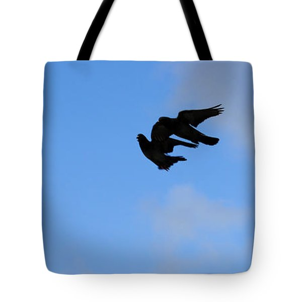 Pigeons Shadow Tote Bag